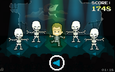 "Screenshot of ""Dancy Bones"""