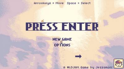"Screenshot of ""Press Enter"""