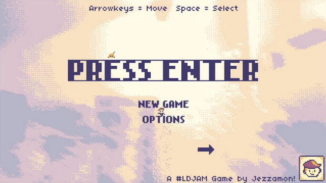 "Screenshot of ""Press Enter"""