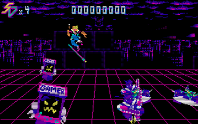 "Screenshot of ""Saber Disk"""