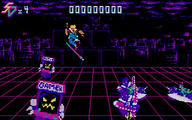 "Screenshot of ""Saber Disk"""