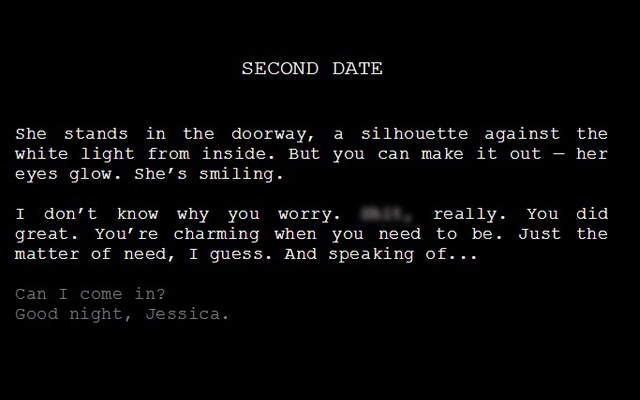"Screenshot of ""Second Date"""