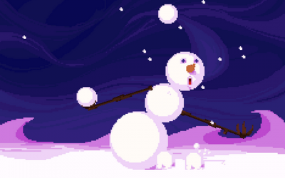"Screenshot of ""Snowball juggling Olympio"""