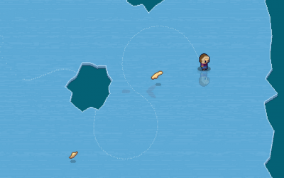 "Screenshot of ""Arctic Antics"""