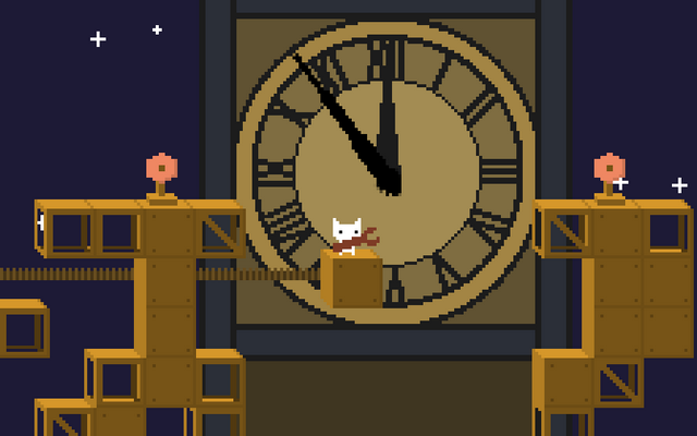 "Screenshot of ""Clockwork Cat"""