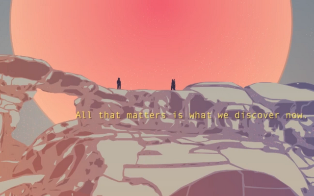 "Screenshot of ""Distance"""