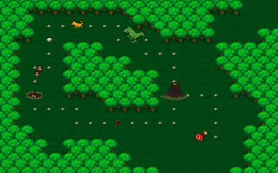 "Screenshot of ""Extinct : Humankind fade in the mist"""