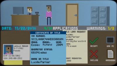 """Screenshot of """"No Credit, No Problem!"""""""