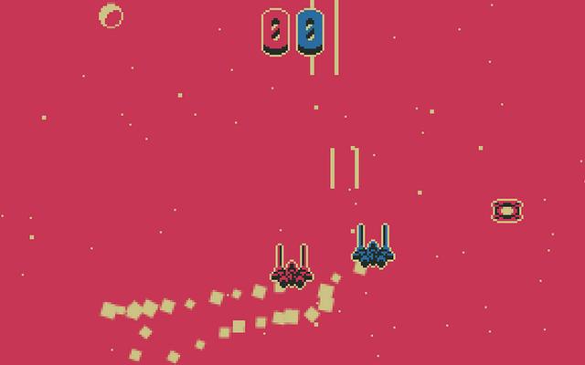 """Screenshot of """"One Ship Two Ship Redshift Blueshift"""""""