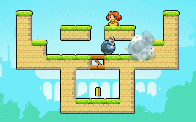 "Screenshot of ""Princess Chardonnay in Bomb Kingdom"""