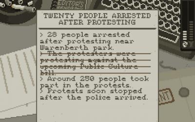 """Screenshot of """"The Westport Independent"""""""