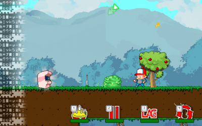 "Screenshot of ""Player vs. Game"""