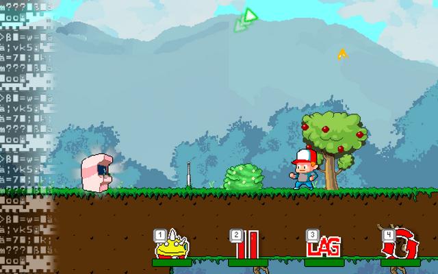 """Screenshot of """"Player vs. Game"""""""