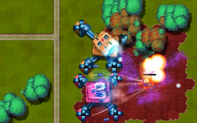"Screenshot of ""Full Metal Democracy"""