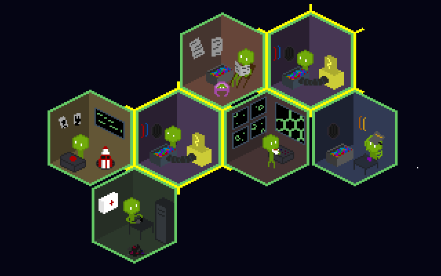 "Screenshot of ""SpaceHex"""