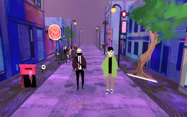 "Screenshot of ""Strolling"""