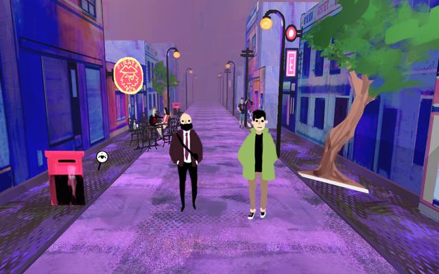 "Screenshot of ""Strolling"""