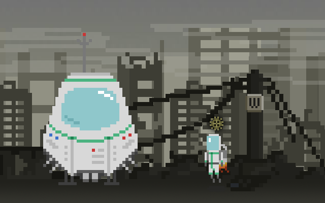 "Screenshot of ""Abandoned Planet"""