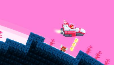 "Screenshot of ""No Mario's Sky"""