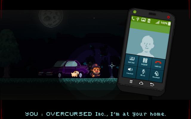 "Screenshot of ""OVERCURSED"""