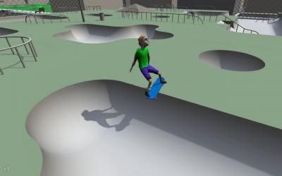 "Screenshot of ""Proc Skater 2016"""