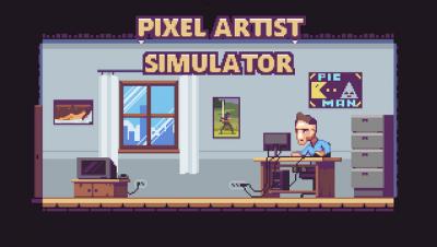 """Screenshot of """"Pixel Artist Simulator"""""""