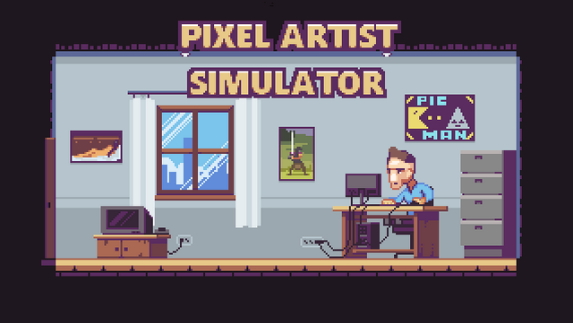 "Screenshot of ""Pixel Artist Simulator"""