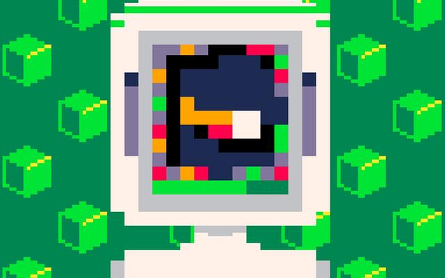 """Screenshot of """"Acid Cube"""""""