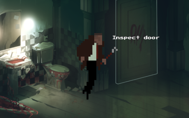 "Screenshot of ""Horror Rush Saga"""