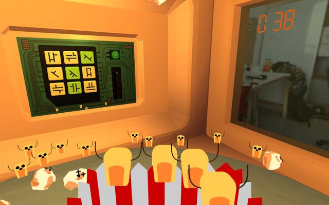 "Screenshot of ""Popcorn Escape"""