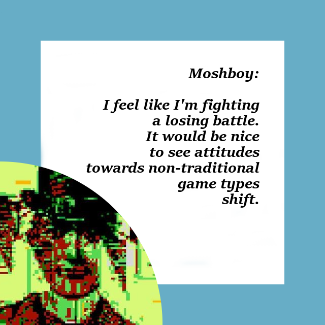 Talking Simulator: Moshboy