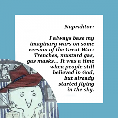 Talking Simulator: Nuprahtor