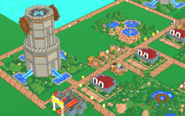 "Screenshot of ""Ye Olde Wavepark"""