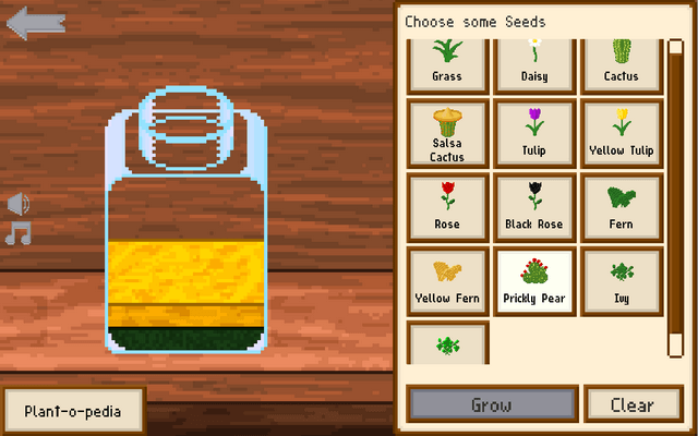 "Screenshot of ""A World in a Jar"""