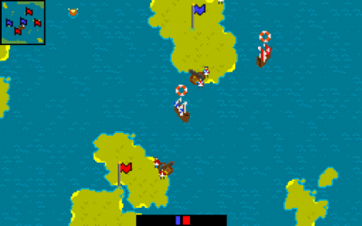 "Screenshot of ""Retro Island War"""