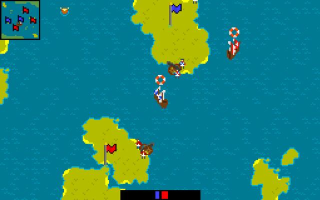 "Screenshot of ""Retro Island War"""