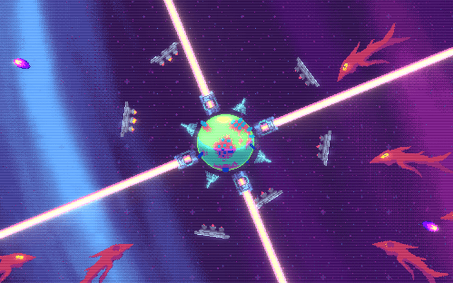 "Screenshot of ""Tiny Planet Defense"""