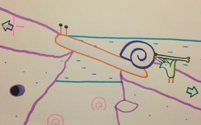 """Screenshot of """"Snail Island"""""""