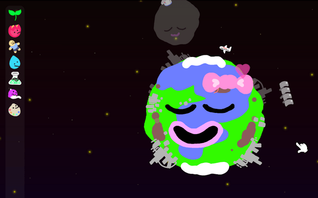 "Screenshot of ""Your World: A Delicious Earth Caring Simulator!"""