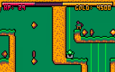 "Screenshot of ""Curse of Greed"""