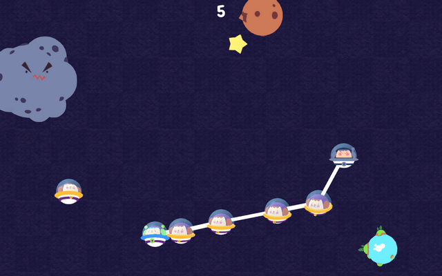 "Screenshot of ""DaisyChain Galaxy"""