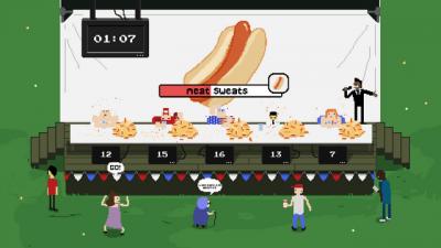 """Screenshot of """"Dog-Off!"""""""
