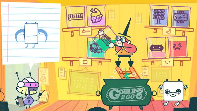 "Screenshot of ""Goblins 2 Go"""