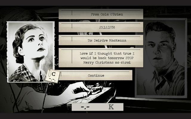 "Screenshot of ""Telegraph"""