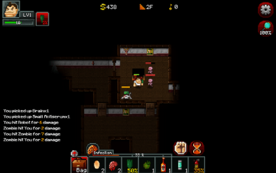 "Screenshot of ""Zombie Rogue"""