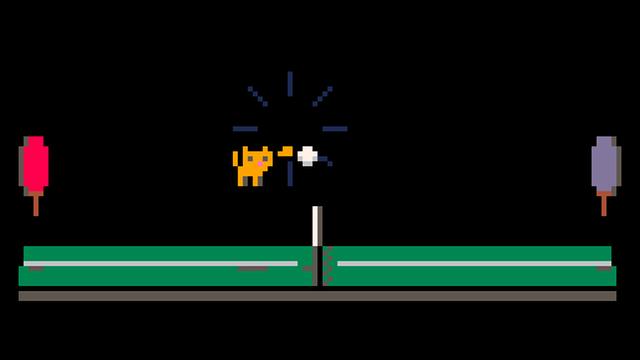 """Screenshot of """"pong pounce"""""""