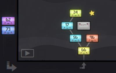 """Screenshot of """"Binary Blocks"""""""