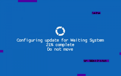 "Screenshot of ""Waiting System"""