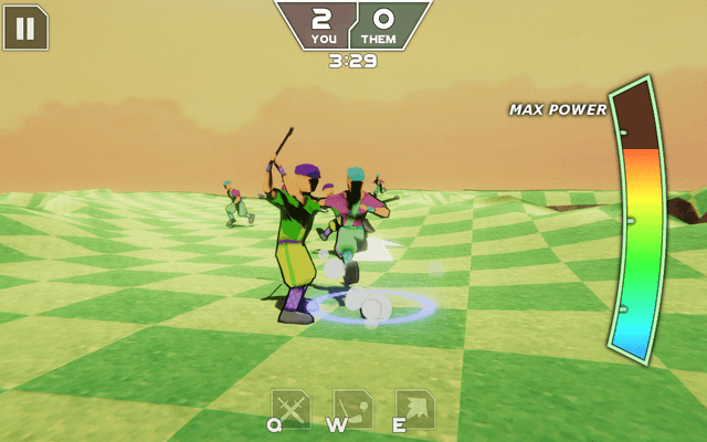 "Screenshot of ""Ace Golf: Blade Brawlers"""