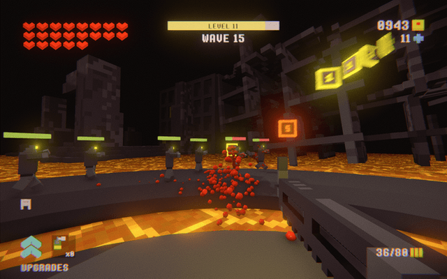 """Screenshot of """"F.I.S.T.S (FIRST PERSON IDLE CLICKER SHOOTER HORROR TOWER DEFENCE SURVIVAL)"""""""